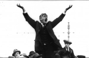 Jim Larkin: knew that the best way to defeat capitalism was through endless sub-division and attacks on social democrats.