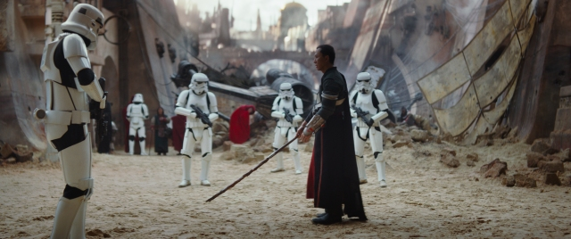 Rogue One: A Star Wars Story(Donnie Yen) Ph: Film Frame ©Lucasfilm LFL